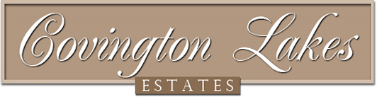 Logo, Covington Lakes Estates, Private Lake Community in Gouldsboro, PA